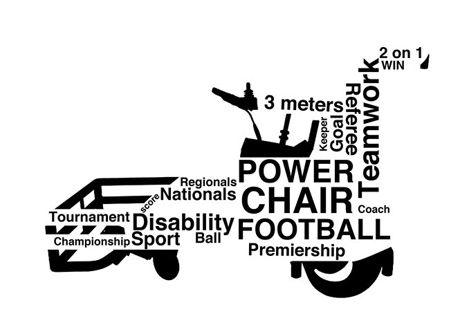 We are Nottinghamshire Powerchair Football Club